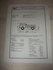 DDR Werbung Reklame Prospekt Datenblatt Straßenzugmaschine Skoda 706RTTN CSSR 81