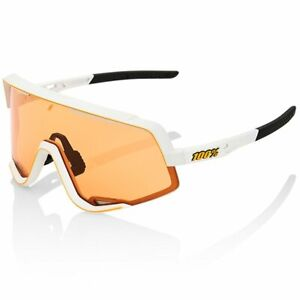 100% Percent Cycling Sunglasses  Glendale - Soft Tact Off White - Persimmon Lens