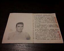 Rara figurina Roma 1954 album S.e.p. Bortoletto Raul