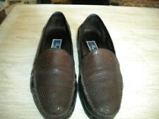 Bragano Italy Brown/Black Loafers 11M