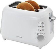 Black Cookworks Pyramid 4 Slice 6 Settings Wide Slot Toaster