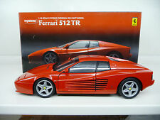 Ferrari 512 TR Red Kyosho 1:18 08423R NEW RARE