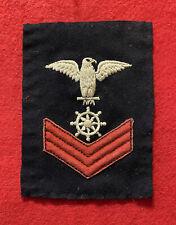 1886-1894 Blue Usn U.S. Navy Po2 Rate — Quartermaster