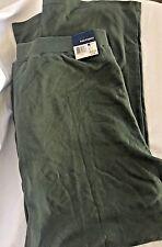 WOMENS Knit Joggers Pants PLUS SIZE 2X Green Color