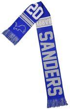 "Detroit Lions Barry Sanders #20 NFL Reversible 60"" Knit Acrylic Player Scarf"