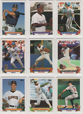 1993 Topps Marlins Inaugural Season Paralell Baseball Team Sets *Pick Your Team*