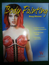 BODY PAINTING BOOK MANUAL GUIDE BY DOUG MITCHEL 10 START TO FINISH PROJECTS
