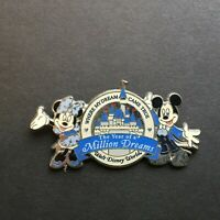 WDW - The Year of a Million Dreams - Mickey and Minnie Mouse Disney Pin 49897
