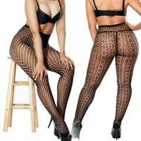 Women's Pantyhose Out Sexy Hollow Tights Fishnet Floral Lace Lingerie Stocking