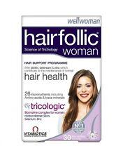 Vitabiotics Wellwoman Hairfollic Woman Advanced Hair Nutrition 30 Tablets