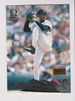2000 Omega Premiere Date #23 Pedro Martinez card, Boston Red Sox HOF, #/77