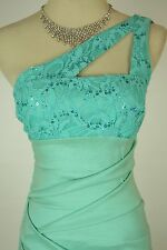Hailey Logan $85 Mint Evening Prom Formal Cruise Short Cocktail Dress size XS