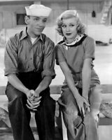 1936 FOLLOW THE FLEET Dancers FRED ASTAIRE & GINGER ROGERS Glossy 8x10 Photo