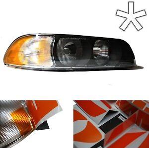 US - Design - Folie für weiße Blinker BMW E39 Vorfacelift Scheinwerfer 5er