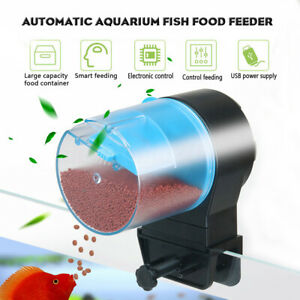 Aquarium Feeder Auto Fish Tank Intelligent Time Setting Food Feeding Fish Timer
