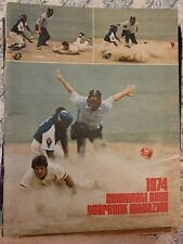 Cincinnati Reds 1974 Yearbook. Good Condition