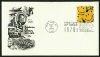#3189m 33c America Smiles, Art Craft FDC **ANY 4=FREE SHIPPING**