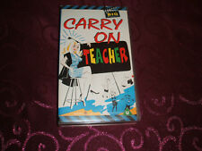 V.H.S. VIDEO TAPE COLLECTABLE....( CARRY ON TEACHER )