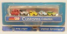 Micro Machines 1989 #29 CUSTOMS Willys Pickup '32 Ford Willys 77 Chevy Panel MOC
