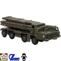 Smerch 9K58 MLRS BM-30 Tornado Whirlwind Diecast Metal Toy Model Die-cast