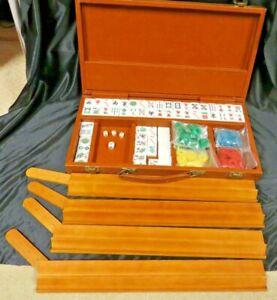 Vintage 1970s Mah Jongg Set 168 Tiles  Mahjong Mah Jong