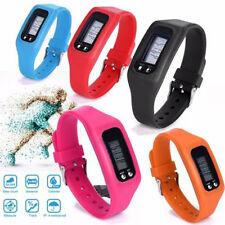 Casual Digital LCD Pedometer Calorie Counter Run Step Walking Bracelet Watch