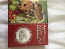 2008 Australian Lunar Year Of The Mouse 1oz Silver Proof Coin