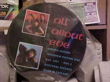 All About Eve Interview Picture Disc