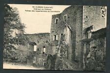 44 - CLISSON : Intérieur du Château : Ruines des Appartements du Connétable