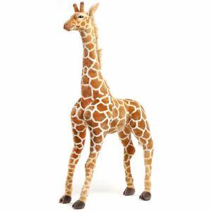 Jani the Savannah Giraffe   4 1/2 Foot Giant Stuffed Animal Plush Giraffe