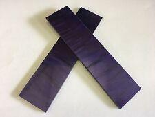 """Kirinite: Púrpura Perla 1/8"""" escalas de 6"""" X 1.5"""" para madera, cuchillo de decisiones, en funcionamiento"""