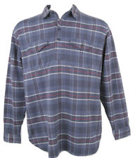 "NEW Polo Ralph Lauren Plaid Pullover Shirt (Jacket)!  Large  ""Cut Big & Roomy"""