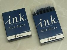 Ink cartridges for Pilot (NAMIKI) Fountain pen / IRF-12S-BB / Blue-black 2 boxes