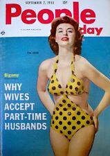 Pinup Magazine 1955 Tina Louise Marilyin Monroe People Today Pocket V11N5 NM/M