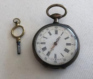 Watch Gusset Antique Faulty Pendulum Oscillates REF64666