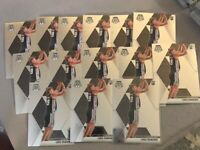 2019/20 Panini Mosaic LUKA SAMANIC Base ROOKIE CARD Lot Of 14 Spurs Rc