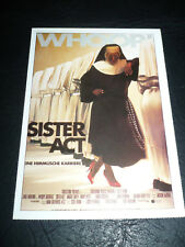 SISTER ACT, film card [Whoopi Goldberg, Maggie Smith]