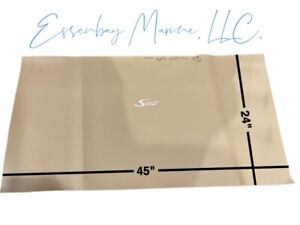 """Marine Grade Padded Vinyl Syntec with White Scout Logo 45"""" x 24"""""""