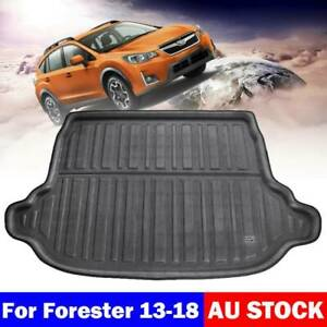 Heavy Duty Waterproof Cargo Mat Tray Boot Liner For Subaru Forester S4 2013-2018