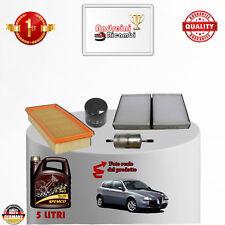 Filtres Kit D'Entretien + Huile Alfa Romeo 147 2.0 16V 111KW 150CV à partir de