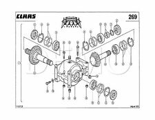 Claas Jaguar 980/950 TYP 494 Spare Parts Catalogue, Original Manual PDF catalog