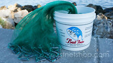 "Bait Buster 1/2"" Sq. Mesh Bait Cast Net 9 ft. Radius CBT-BBA9 by Lee Fisher"