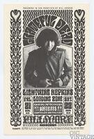 BG 32 Grateful Dead Yardbirds 1966 Oct 21 Bill Graham Fillmore Handbill