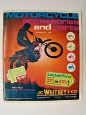 1974 Motorcycle Accessories & Parts Catalog #4 JC Whitney & Co Chicago IL