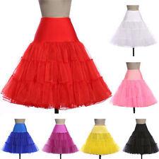 Retro Underskirt 26' 50s Swing Vintage Petticoat Fancy Net Skirt Rockabilly Tutu