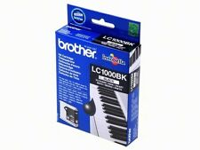 Original Brother lc1000bk pour mfc-5860cn fax-1355 dcp-70cw neuf dans sa boîte article neuf