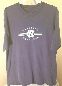 North Carolina Tar Heels NCAA Vintage Blue School Logo 3XL T-Shirt