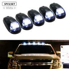 5pcs 9 LED Roof Light White Smoked Cab Clearance Light For Dodge Ram AS/ABS New