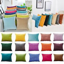 40x40cm/50x50cm/30x50cm Velvet Cushion Pillow Cover Pillowcase Home Sofa Decor