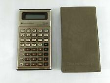 Calculatrice Vintage Texas Instruments TI 44 Constant Memory HS Pour pieces